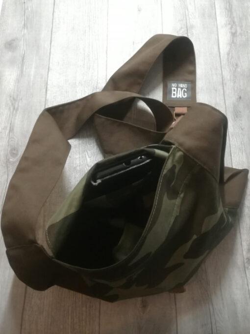 Camouflage No Hand Bag