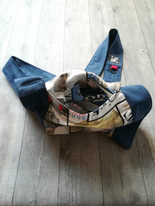 bagazin inside nohandbag