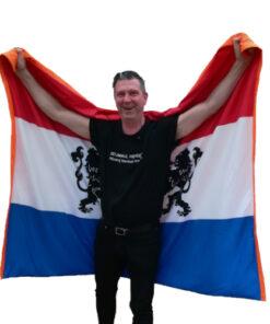 waterafstotend picknickkleed Nederlandse vlag