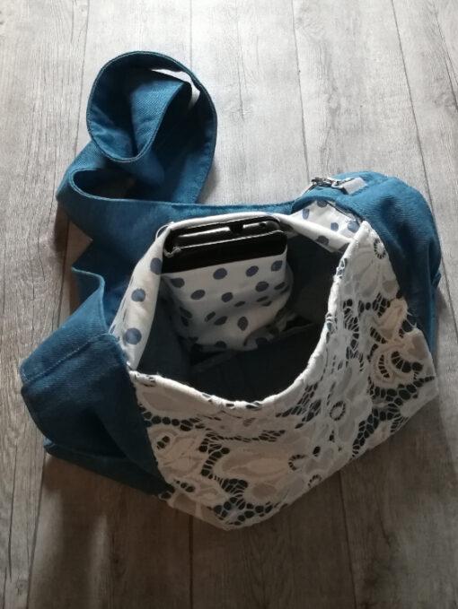 lace up binnenkant nohandbag
