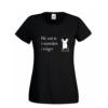 tshirt-dames-zwart-2-woorden-1-vinger