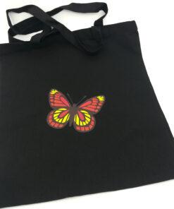 draagtas vera vlinder kleurig