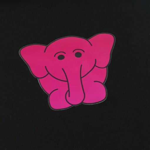 olga de olifant detail draagtas